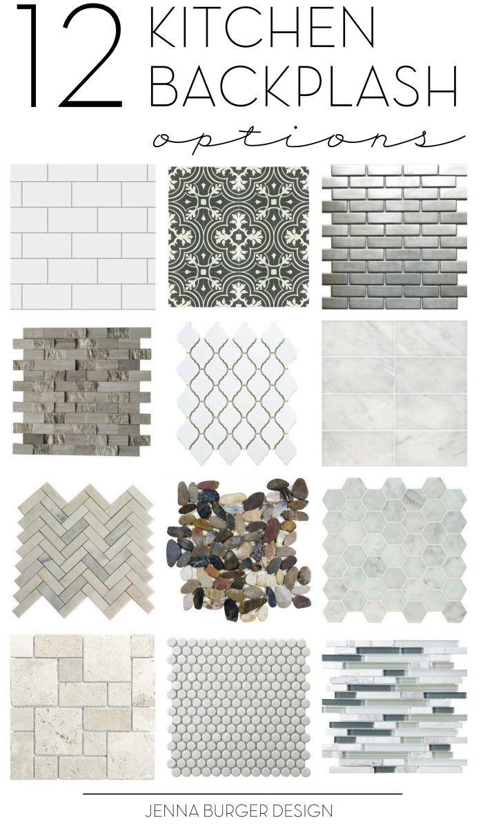 Kitchen Tile Backsplash Options Inspirational Ideas With Images