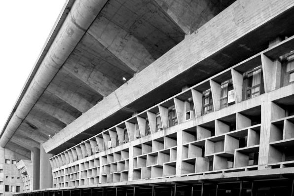 Life In Le Corbusier S Utopian City Photographed By A Resident Le Corbusier Landscape Architecture Design Brutalist Architecture