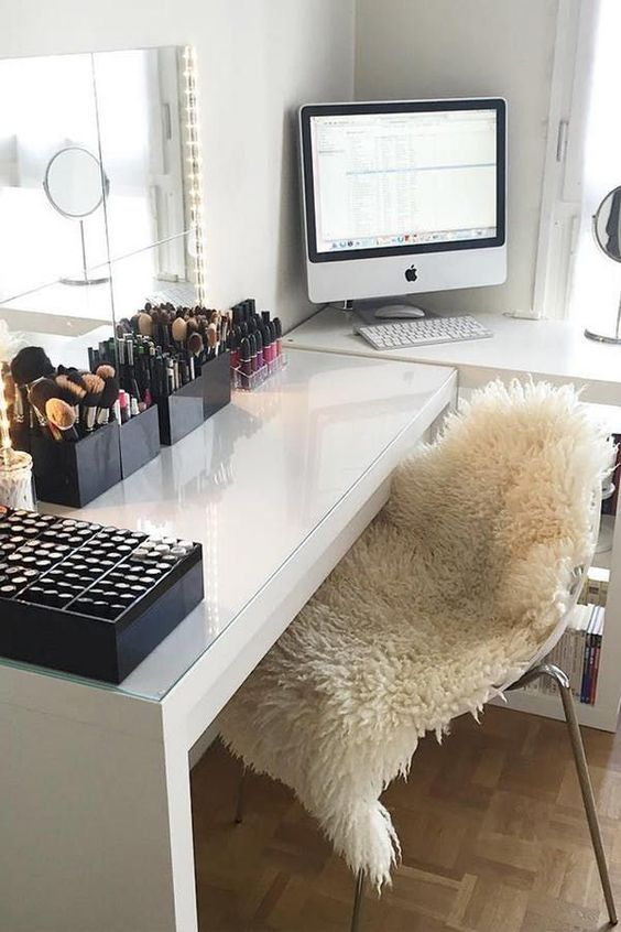 31+ Beautifull Makeup Vanity Ideas That'll Change Your Interior