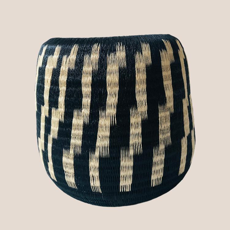 Photo of MUKILA Vase Handmade in Rafia – 21cm x 25cm