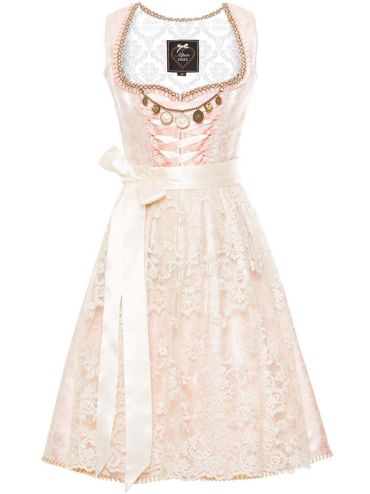 Hochzeitsdirndl Rosa Von Alpenherz Modell Grazia Hochzeitskleid Dirndl Braut Dirndl Dirndl