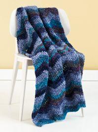 Crochet Twilight Ripple                                            Afghan