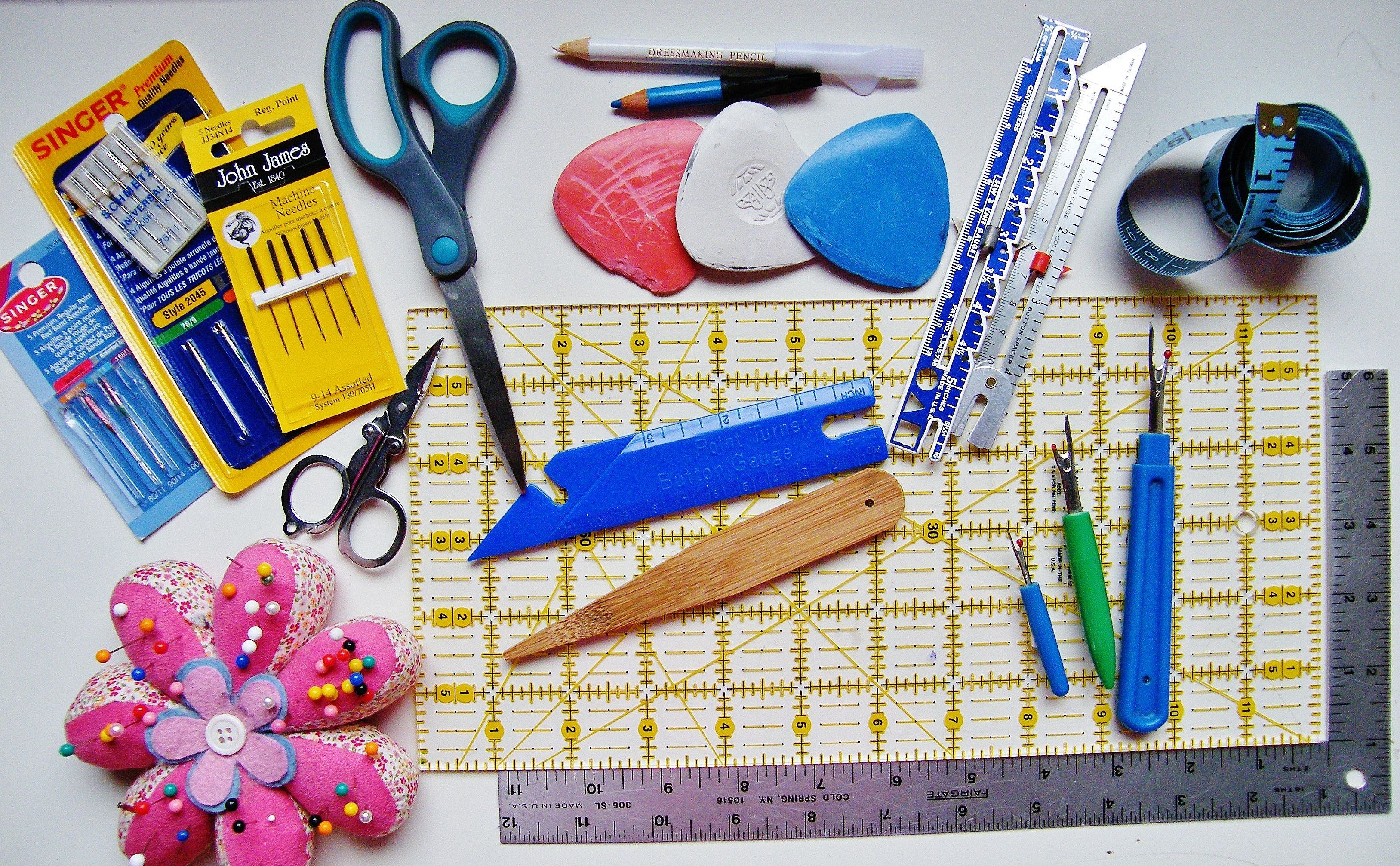 How To Worksheet 2 Basic Tools For Beginner Sewing