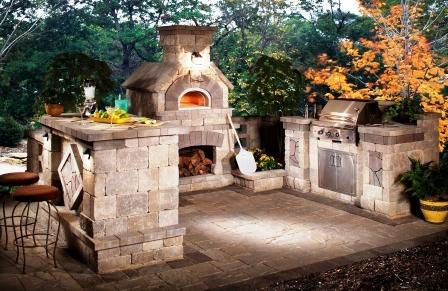 Wood fired pizza oven - For details and additional information on