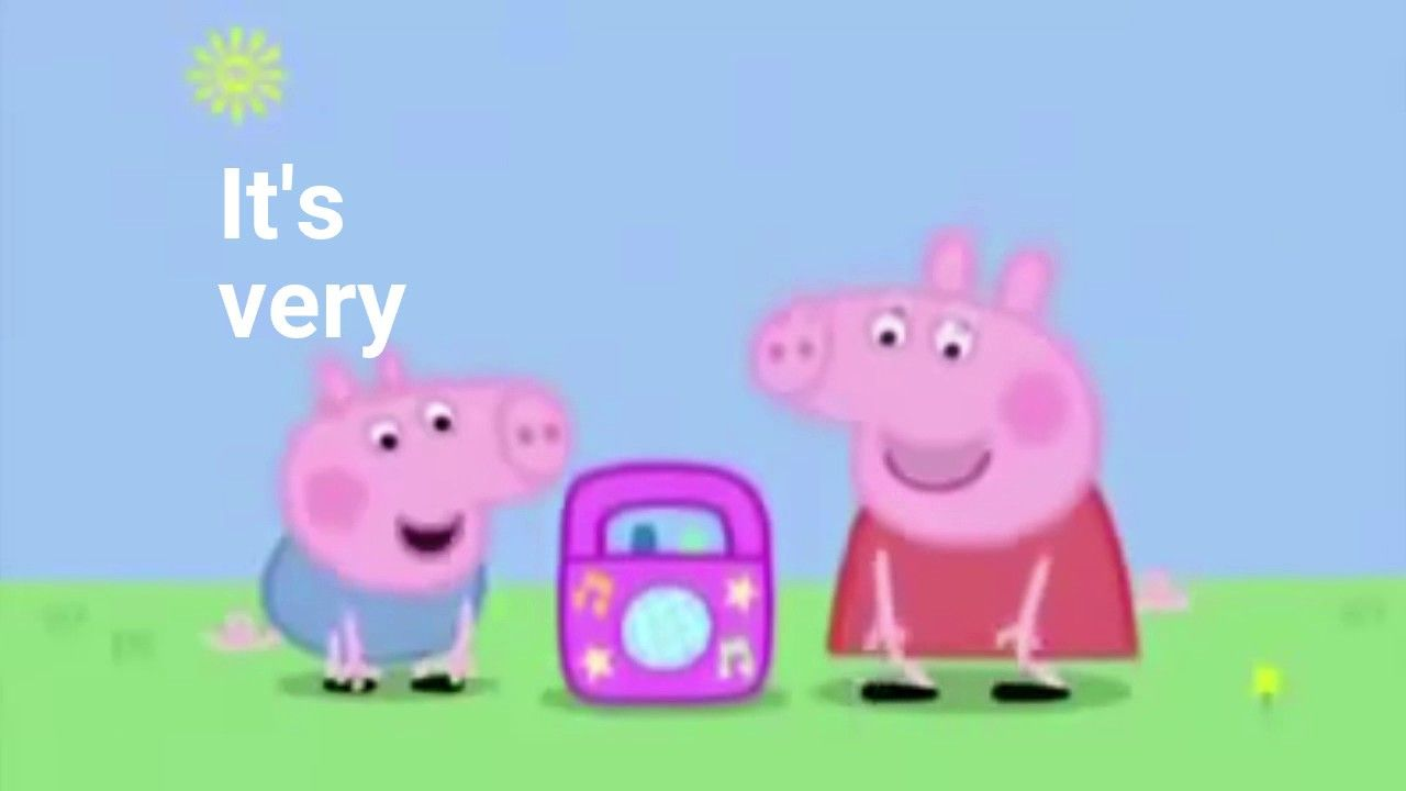 Wait Is This An Actual Add If So I Applaud You Google Peppa Pig Memes Peppa Pig Pig Memes