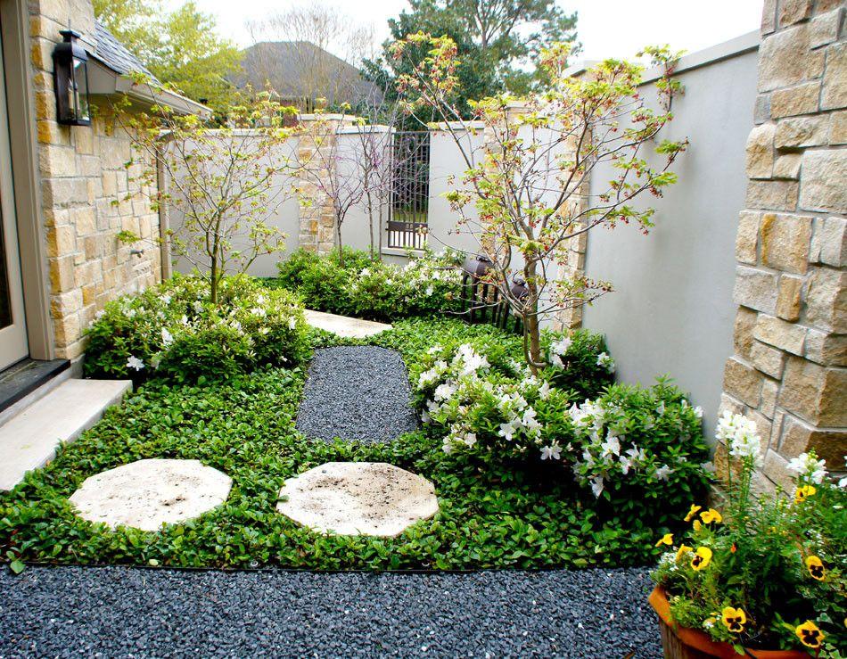 Hidden French Courtyard Garden - Lanson B. Jones ...