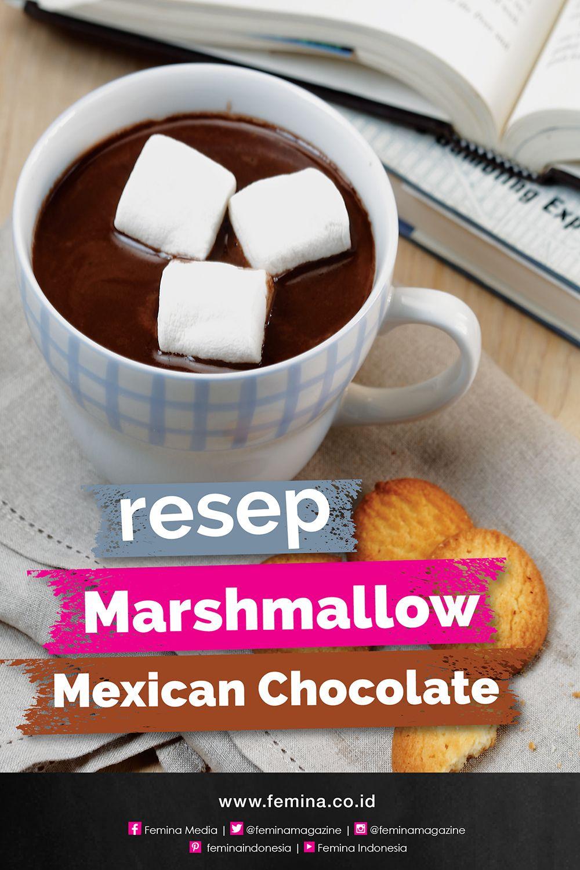 Resep Marshmallow Mexican Chocolate Makanan Ringan Manis Marshmallow Resep Minuman