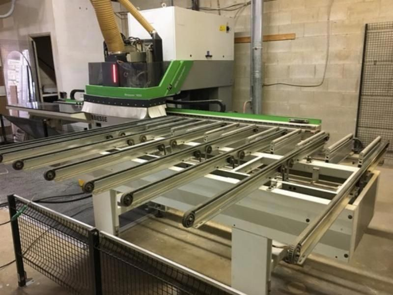 2014 Biesse Skipper Feed Through Boring Machining Center.  A rare machine to find on the used market. The Skippers are production boosters.  $112,000.00
