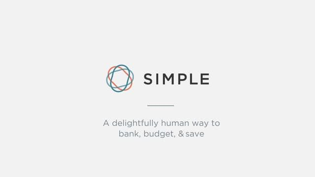 Simple - A delightfully human way to bank, budget, and save on Vimeo - simple budget