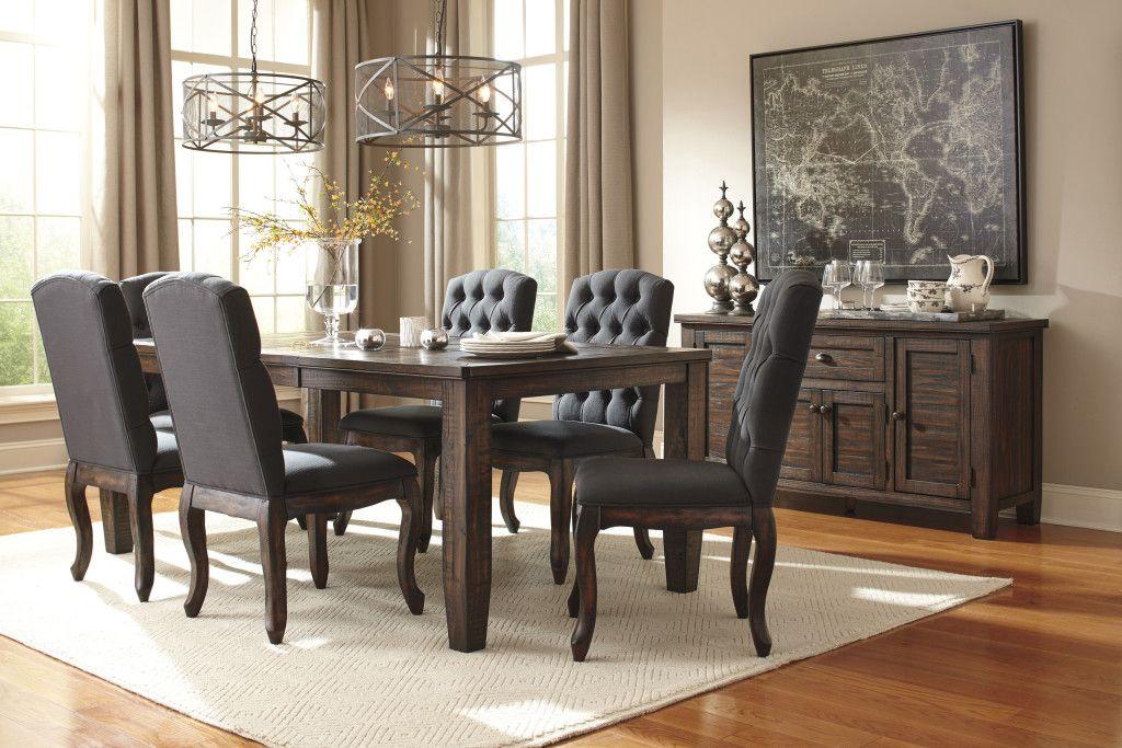 Ashley Trudell Dining Set Round Dining Room Sets Casual Dining Rooms Round Dining Room