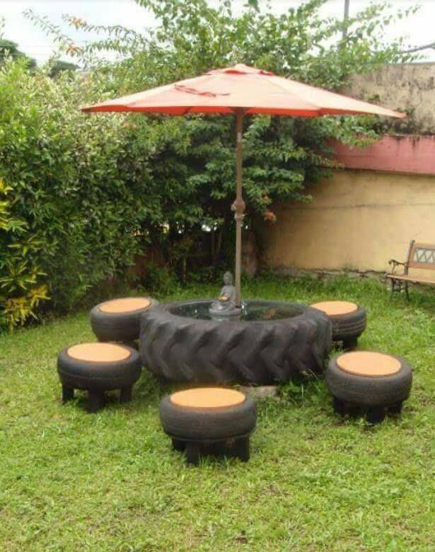 artesanas bricolaje y reciclados con ruedas