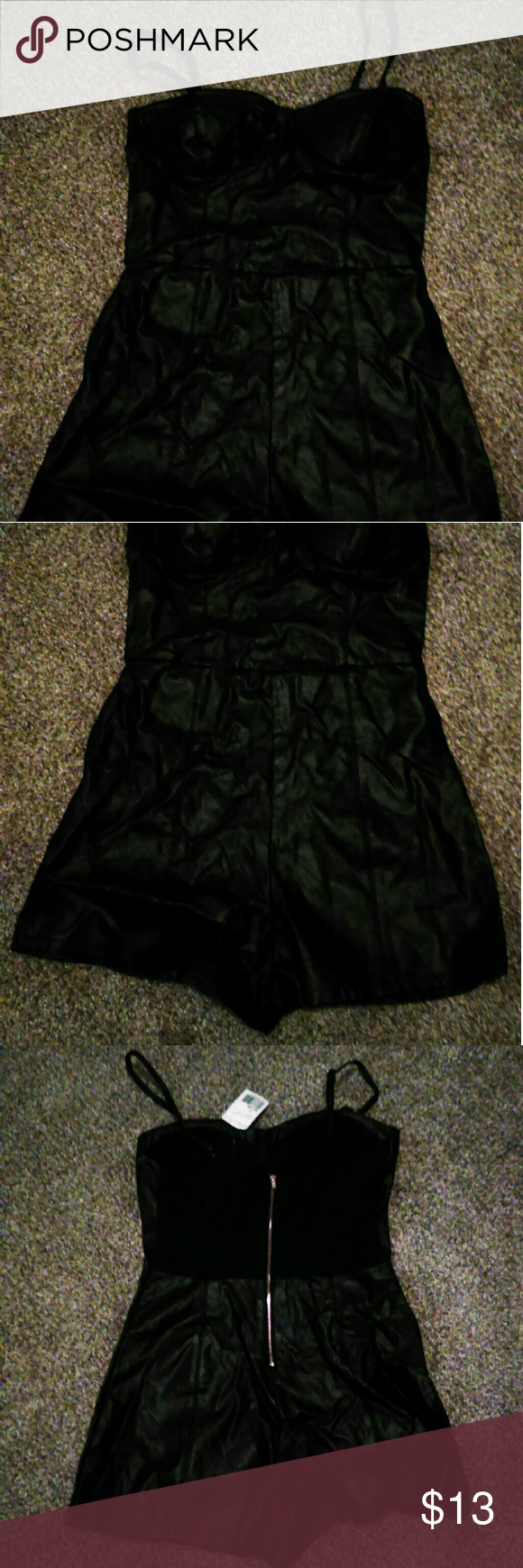 55c0f510b69 NWT Forever 21 Jumper Tube NWT Forever 21 Leather Jumper Tube. Size Small. Forever  21 Pants Jumpsuits   Rompers