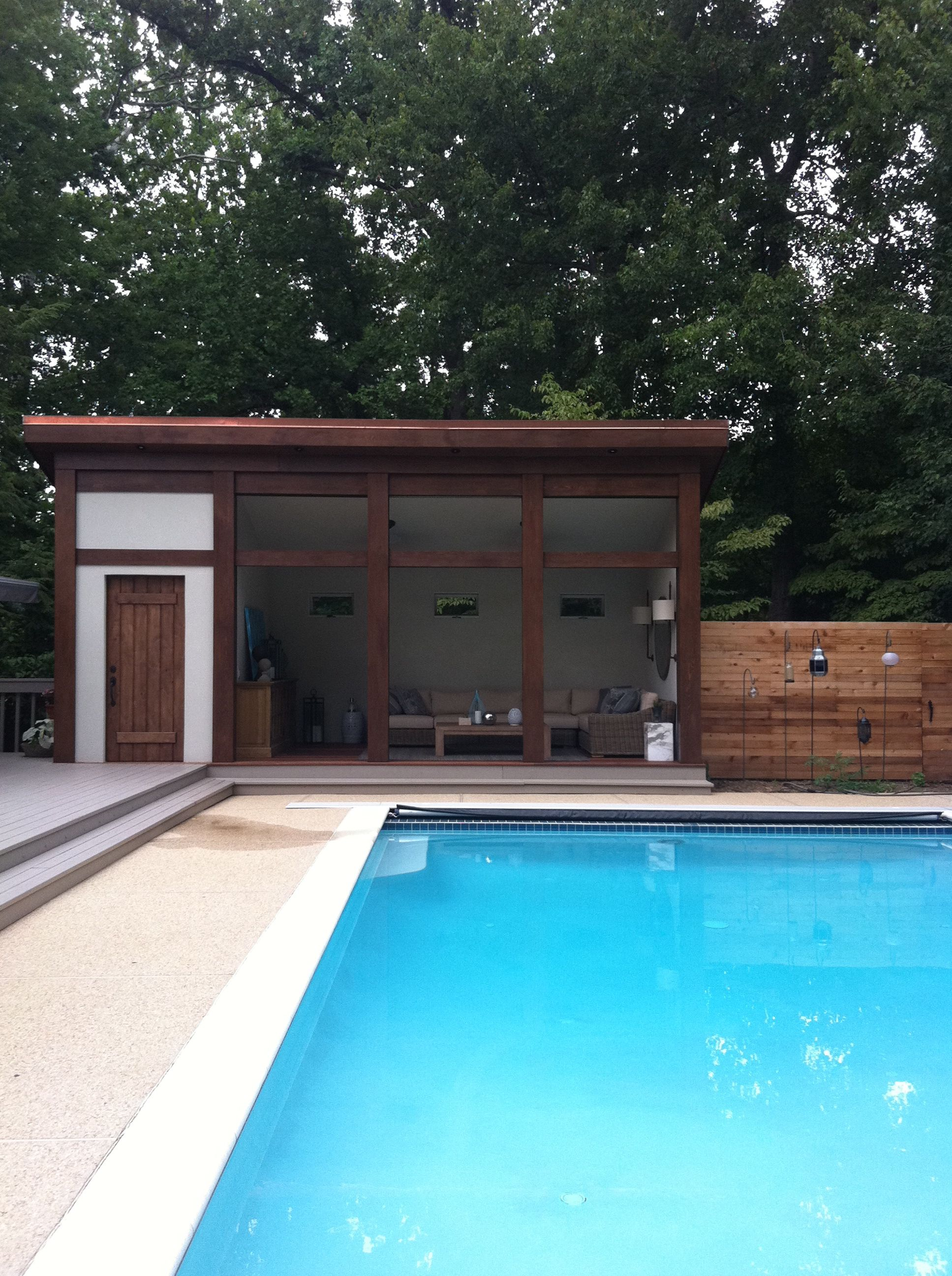Pool Cabana Would Be Awesome Pool Houses Modern Pool