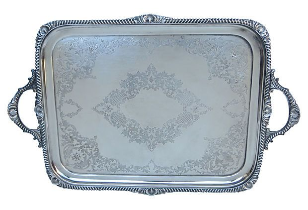 Silverplate   Tray on OneKingsLane.com