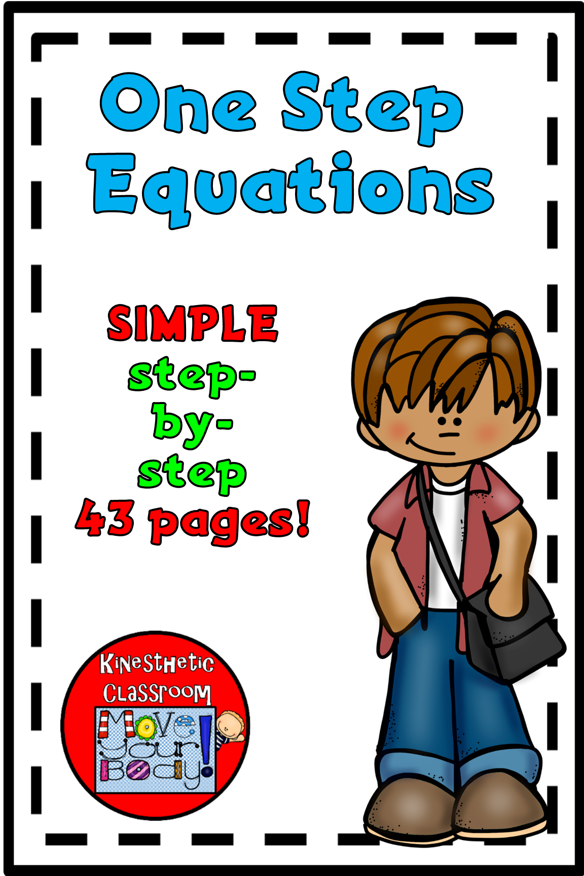 One Step Equation Worksheets Simple Step By Step Resource