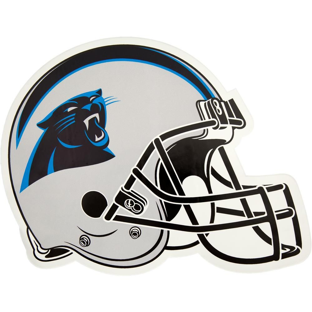 Applied Icon NFL Carolina Panthers Outdoor Helmet Graphic