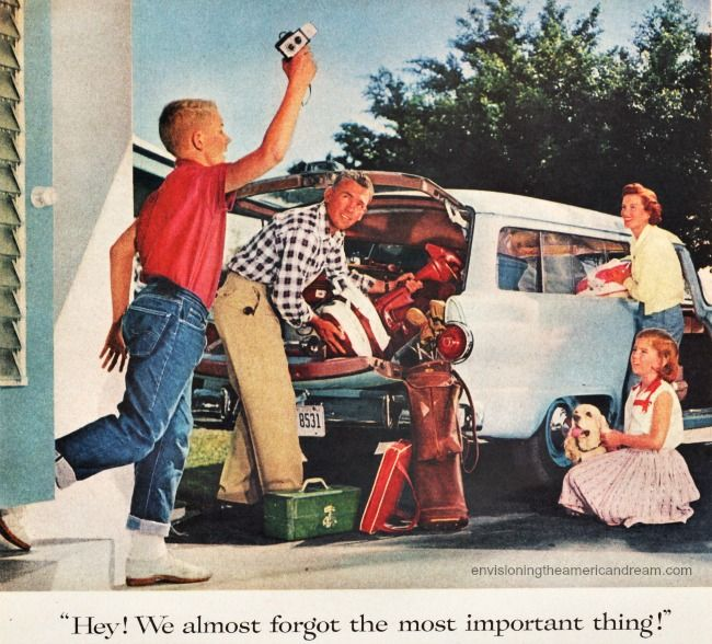 1950s – Envisioning The American Dream | Nostalgia | Vintage