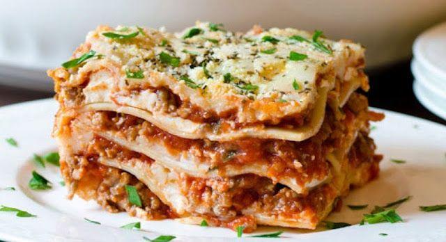 Resep Cara Membuat Lasagna Kukus Praktis Mudah Sederhana Enak Lasagna Makanan Italia Resep Makanan