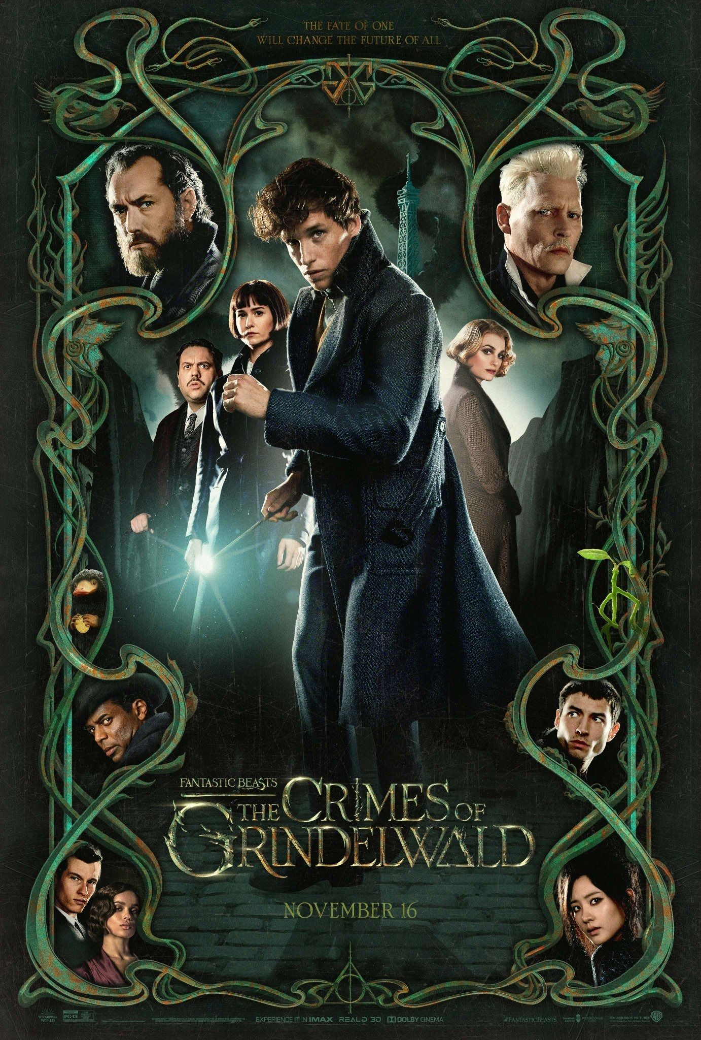Fantastic Beasts The Crimes Of Grindelwald Poster Filma