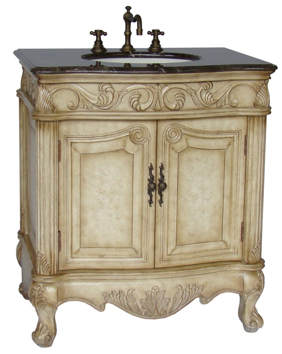 32inch Mia Vanity Country French Style Vanity French Style