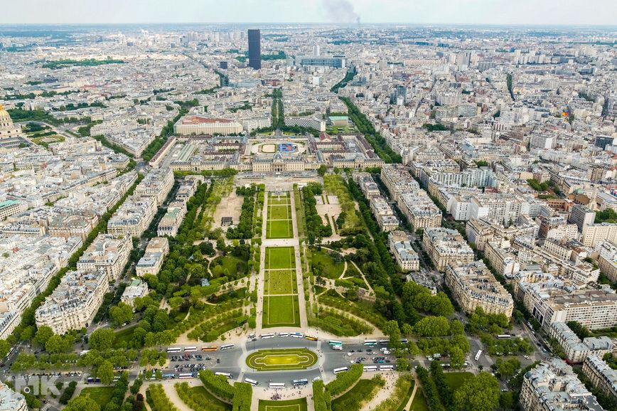Paris Skyline Pictures | OMG Amazing Pictures - Most Amazing Pictures on The Internet