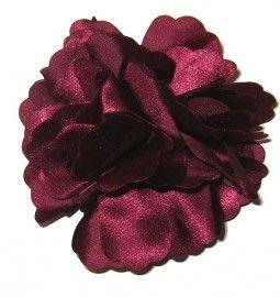 Haarbloem burgundy