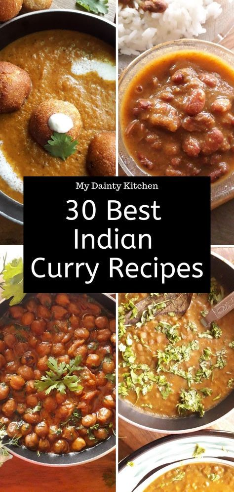 30 Best North Indian Curry Recipes #indianfood