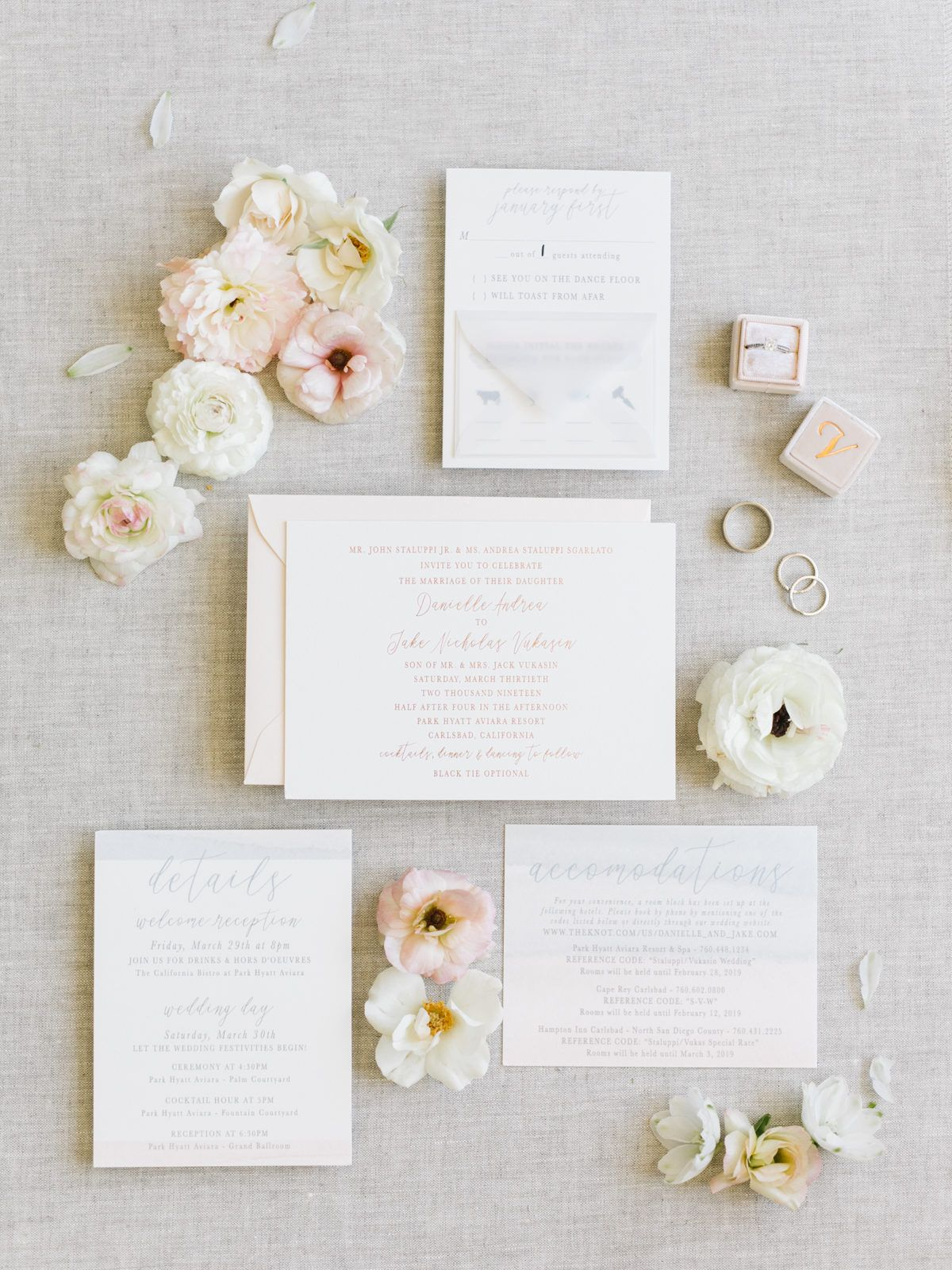 A Destination Wedding with Classic California Style at Park Hyatt