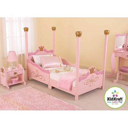 KidKraft   Princess Toddler Bed, Pink | Products in 2019 | Pinterest