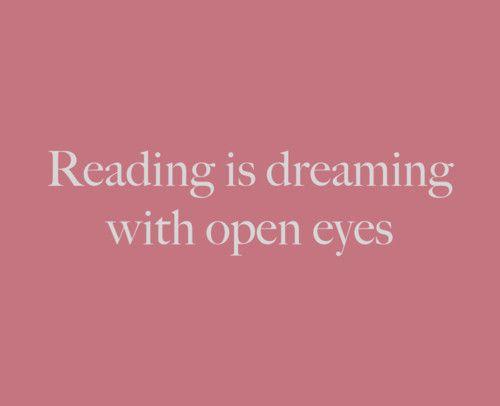 Reading Fan Art: Reading Quote