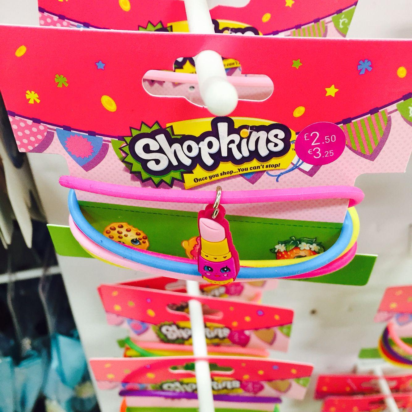 Shopkins bracelets - Tesco | Allison\'s B-day | Pinterest ...