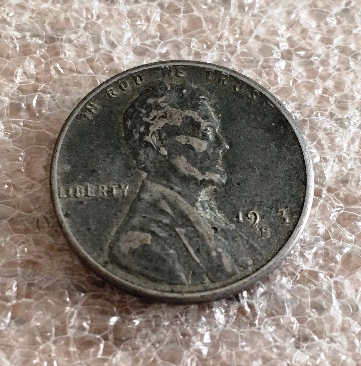 Error Errorcoins 1943 S Ghost 4 Lincoln 1c Wheat Penny Error Missing 4 In 1943 Error Coins Valuable Coins Coins