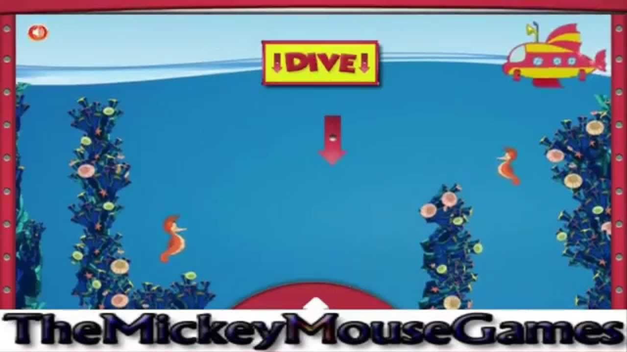 Mickey And Donald S Submarine Adventure Mickey Mouse Clubhouse 2015 Full Game Episode 2015 Disney Junior Games Mickey Mouse Clubhouse Disney Games