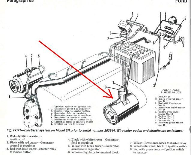 massey ferguson wiring diagram for a f 40
