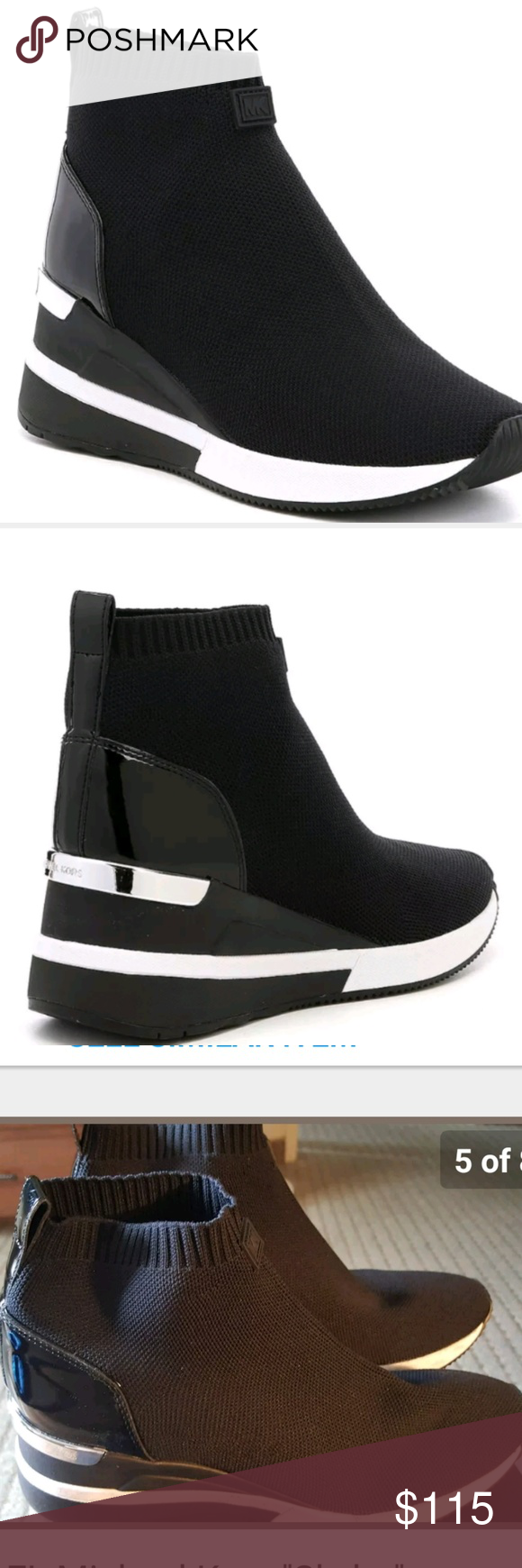 b824bbf0501 MICHAEL Michael Kors Skyler Wedge Sneaker Booties MICHAEL Michael Kors  Skyler Wedge Sneaker Booties. From