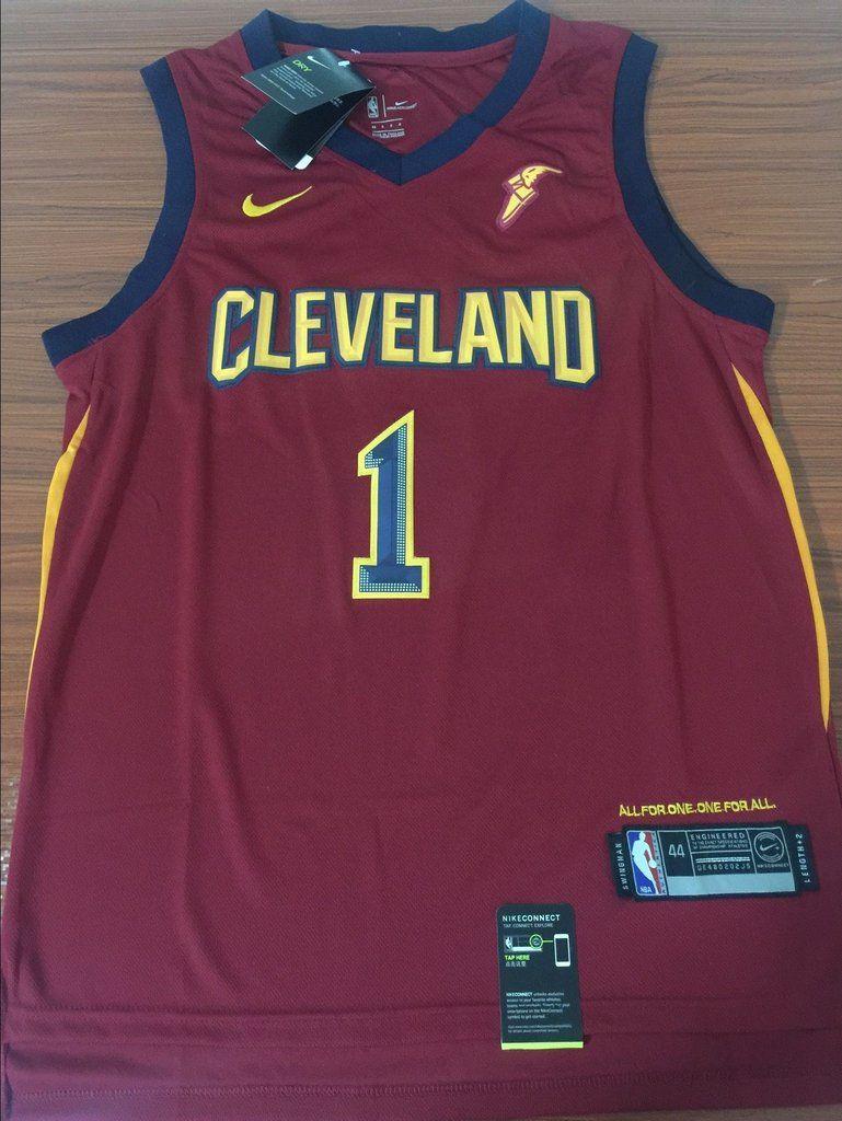 4f9aedfdc Men 1 Derrick Rose Jersey Red Cleveland Cavaliers Jersey Swingman Fanatics Kyrie  Irving Celtics