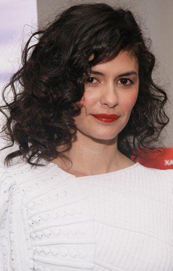 Frisuren Die Schönsten Bilder Von Stars Mit Locken Audrey Curly