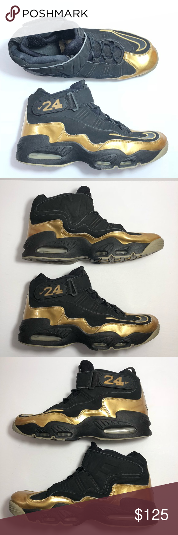 the latest 7b4c4 2bc78 Nike Air Griffey Max 1 Black 354912-006 Shoes Preowned but in good  condition. Does show signs of wear please see photos! Shoe 392 Nike Shoes  Athletic Shoes