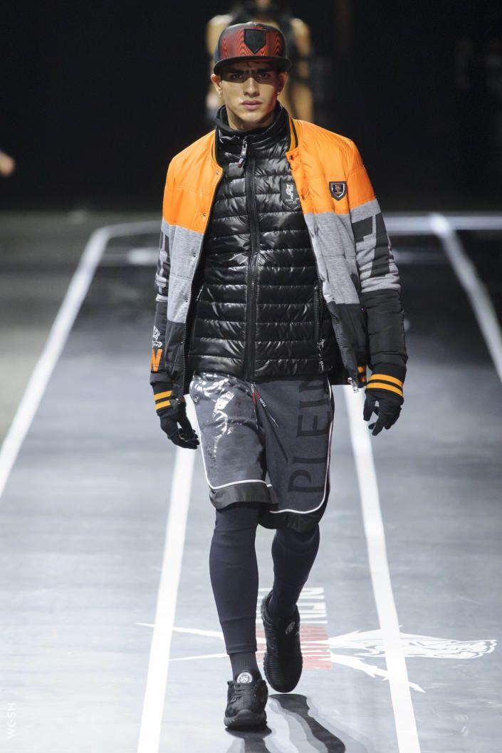 From Wgsn Catwalks Plein Sport Autumn Winter 2017 Fashion Sport Fashion Milan Fashion Week