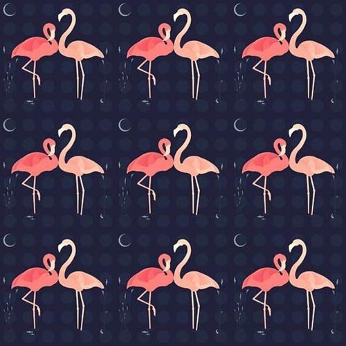 die besten 25 flamingo muster ideen auf pinterest flamingo tapete flamingo illustration und. Black Bedroom Furniture Sets. Home Design Ideas