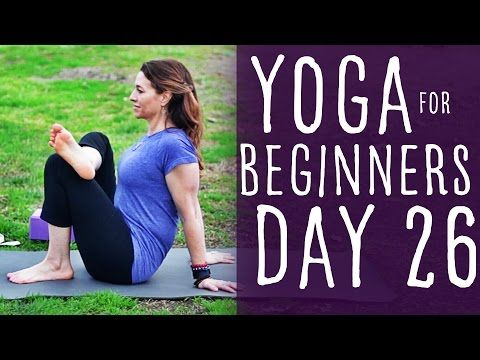 30 minute yoga for beginners 30 day challenge day 26 with