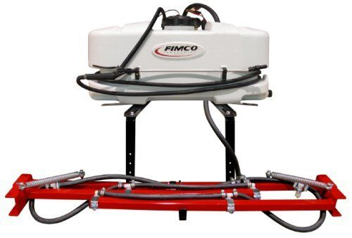 Fimco Atv 25 700 Atv Sprayer With Boom By Fimco Industries 349 95 Spraying May Be Accomplished With The 140 I Diaphragm Pump Heavy Duty All Terrain Vehicles