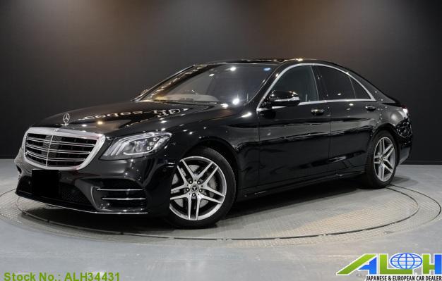 7417 Japan Used 2018 Mercedes Benz S Class Sedan For Sale Auto Link Holdings Llc Benz S Class Benz S Mercedes Benz Sedan