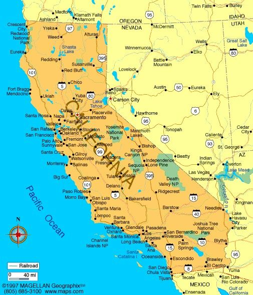 Zara Cosgrove On California City Map California Map