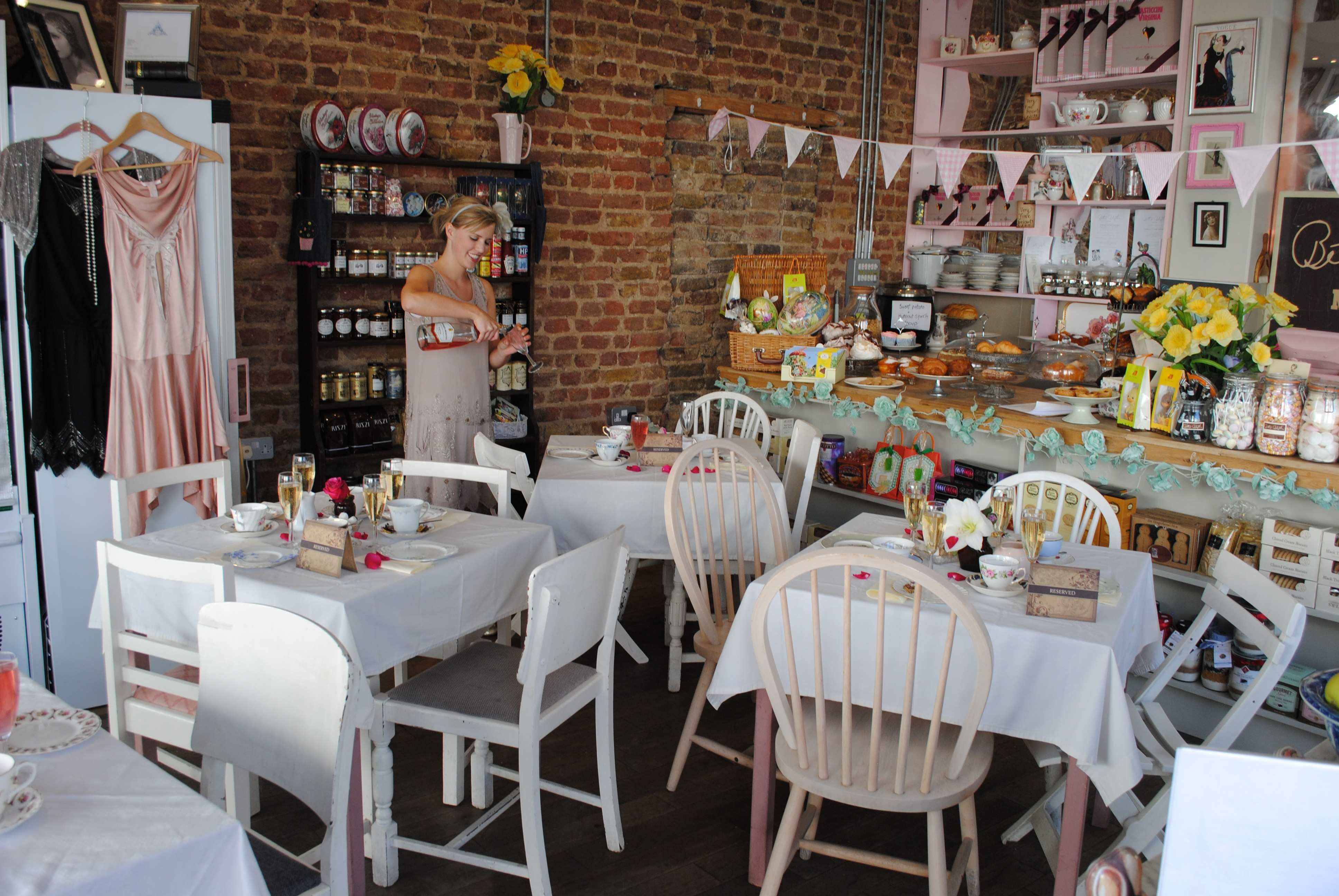 Betty Blythe Cafe London Vintage Tea Rooms Afternoon