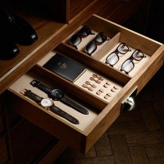 21 Cool Ways To Organize Men Accessories At Home Manner Accessoires Organisieren Wohnung Esszimmer