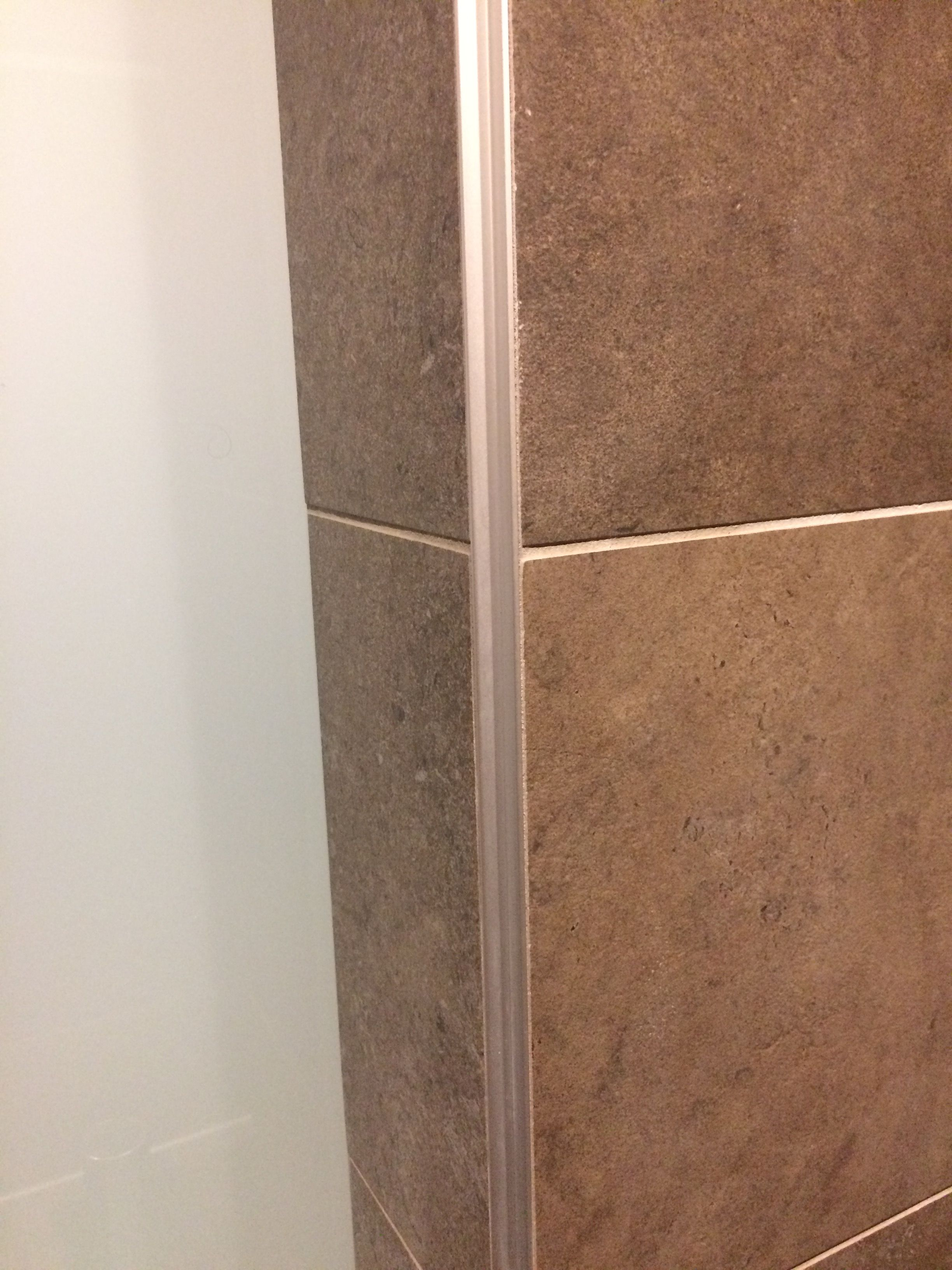 Ryan Likes The Schluter Systems Tile Edging Clean Durable Nice Lines For All Tile Areas In The Home Remodelacao