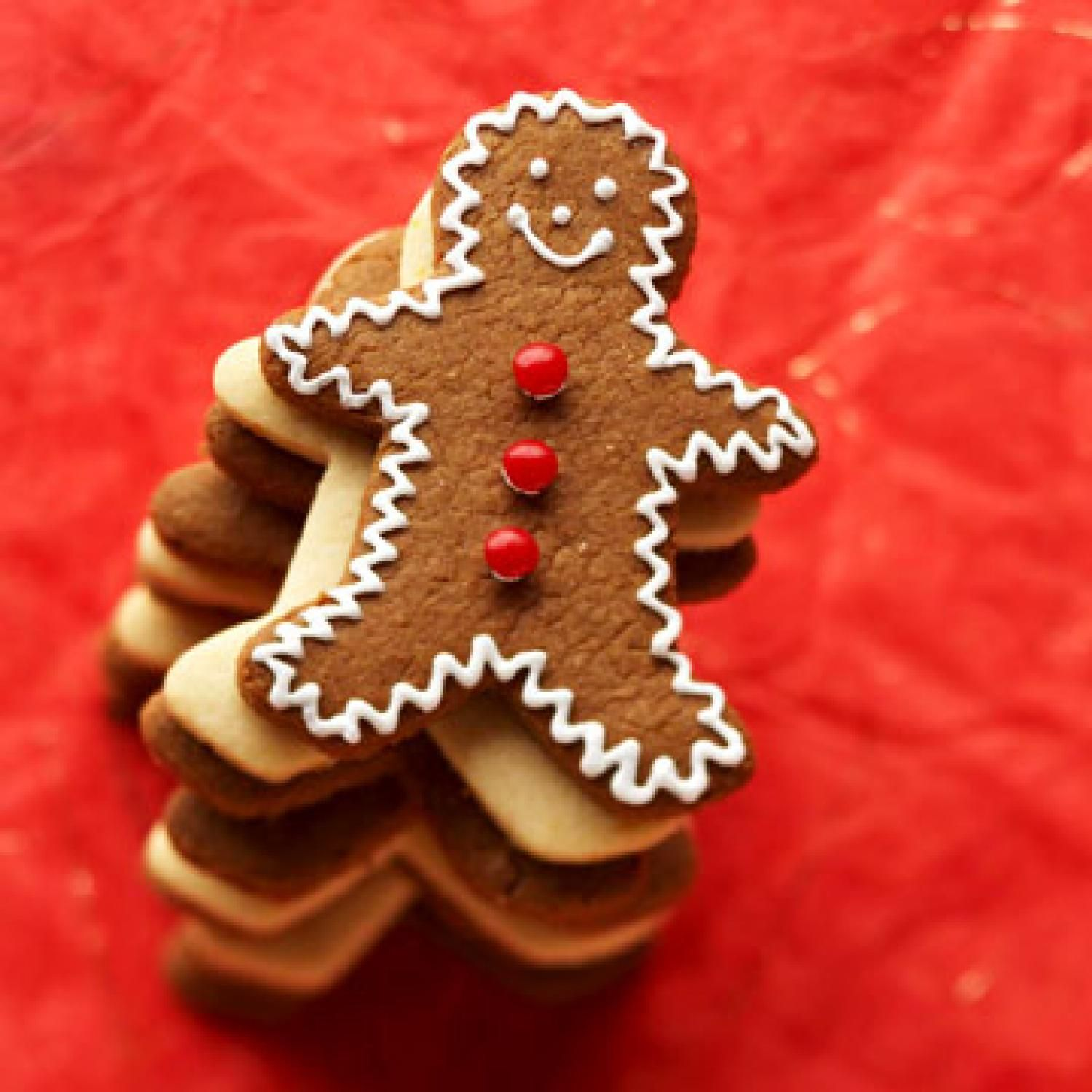 Diabetic friendly Christmas cookies. From gingerbread to
