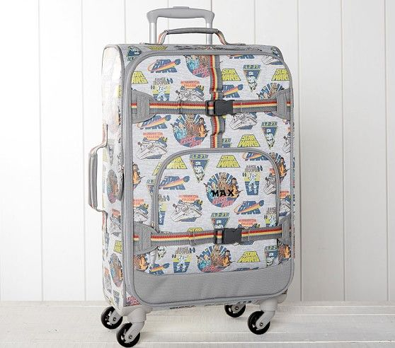 Solo A Star Wars Story Glow In The Dark Luggage Kids