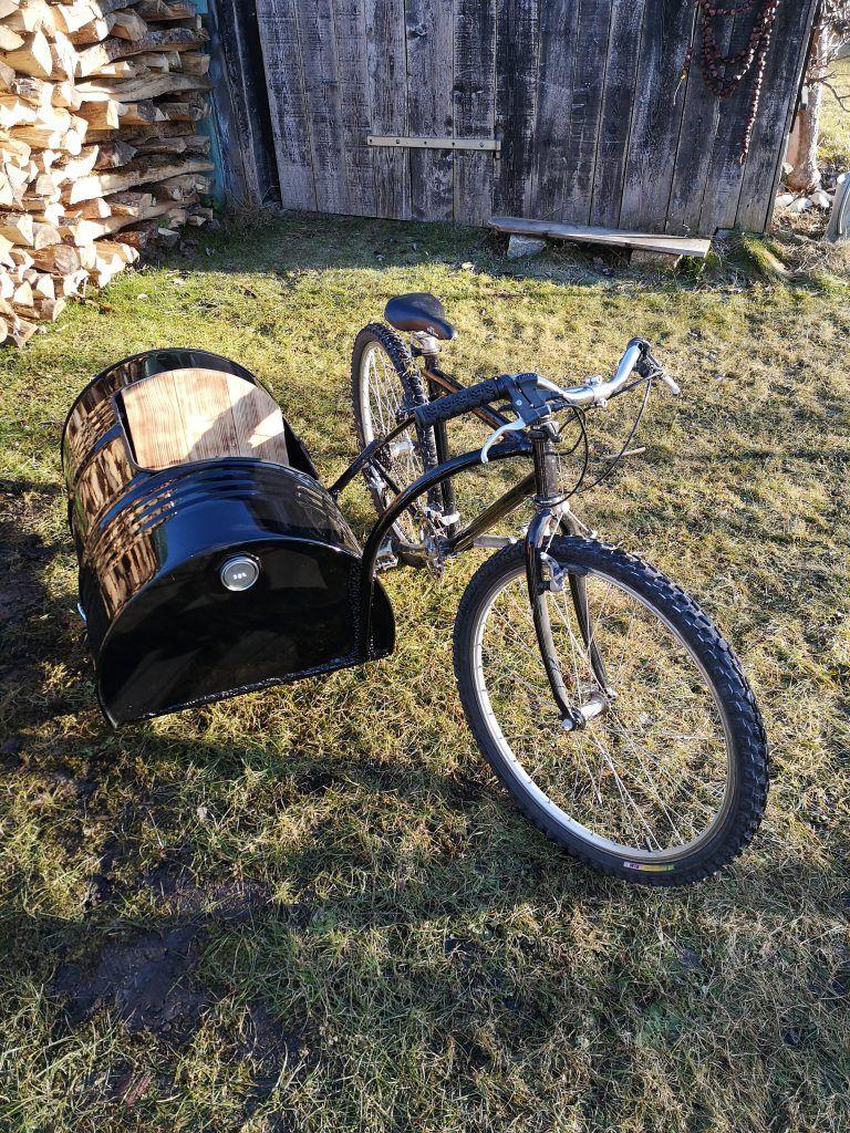 Fahrrad Beiwagen selber bauen - DIY Seitenwagen | Beiwagen